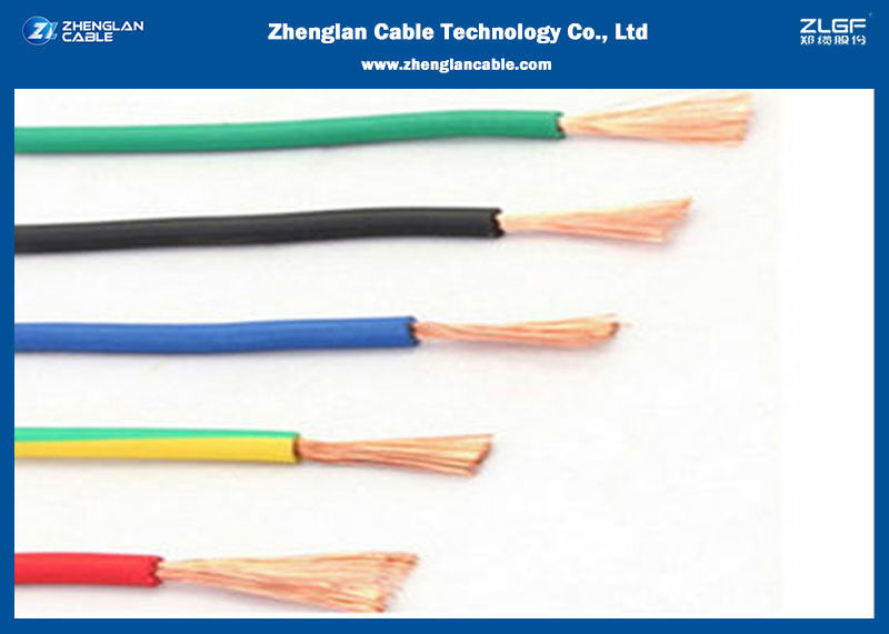High Temperature Wire & Fire Resistant Cables/ 450/750 BVR Cable use for  House or BuildingAluminum Power Cable